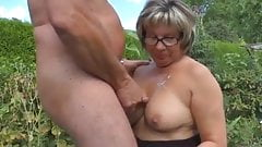 An older couple still up for it