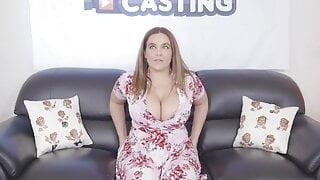 Natasha Nice - casting with pissing