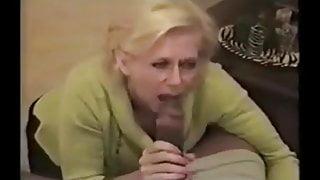 Southern white wife fucks a young black man while husband fi