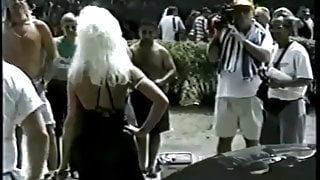 Jan B attends public event & ends in limousine bbc gangbang