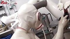 FUN MOVIES German Amateur Latex fetish hospital lesbians