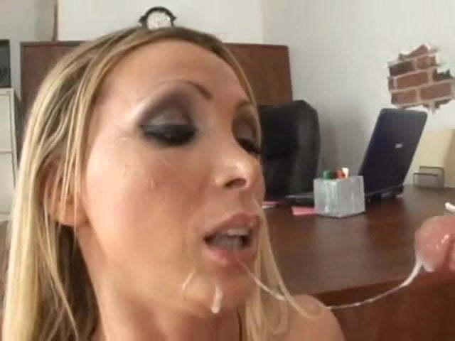 Nikki Benz Facial