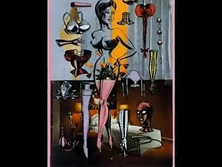 Bdsm vintage erotic drawings art - The fetish art of mirka lugosi