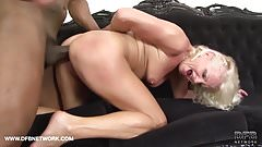 Mature drilled by black guys in hardcore interracial Anal