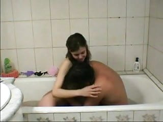 Teen girl pussy in the tub - Sex in the tub