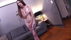 ENF - strip naked and do nude exercises, lost bet games
