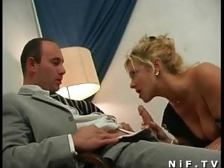 Sex and cunniligus - French mature always loves anal sex and facial cumshot