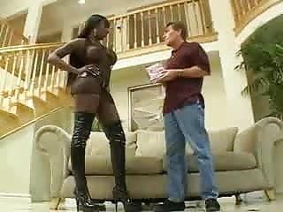 Black bitch suck my white cock Black bitch anal with white cock