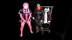 Mistress Terie Fully Feminizes her Femdom Sissy Slave Maid