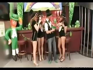 Day gay history st valentine St patricks day foursome fun at the bar