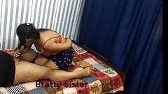 Punjabi married aunty  horny blowjob clip