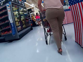 Slacks for mature women - Wide latina ass vpl tight business slacks