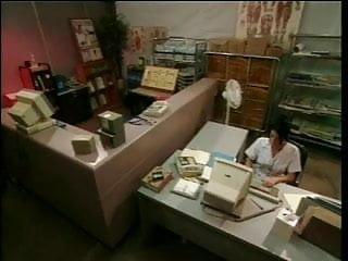 Nurse ahryan astyn getting fucked - Brunette nurse getting ass fucked at the desk