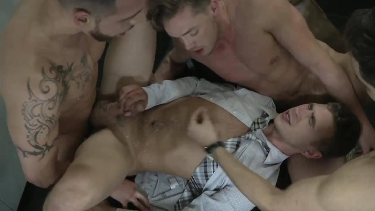 Allen King Porn Cumpilation foursome cum fest-part 1