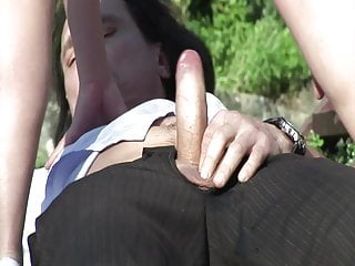 Outdoor pissing porn Outdoor pissing with two grandmas