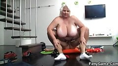 June Kelly hot bbw fucked after a photo shot