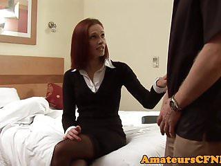 Ebony femdom spanking Redhead cfnm femdom spanking perverts ass
