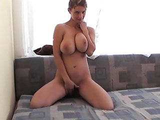 Blone nude pics - Busty blone big boobs fingering