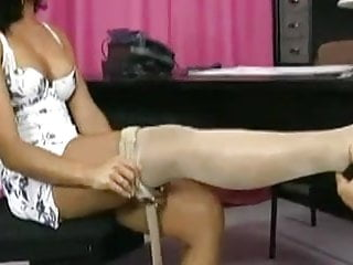 Sex in hot Hard cock pleasures pussy in hot pantyhose sex