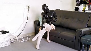 latex Doll cover kig doll 2 layers. Home cleaning