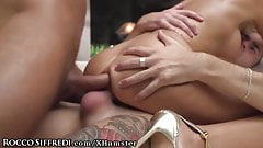 Rough DP Orgy Fuck at Rocco's Hard Academy Compund
