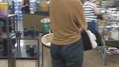 nipple Juicy blonde ass hiding in pants  face fuck