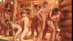 orgy in the sauna