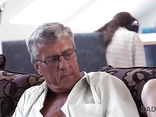 Men sexual needs Daddy4k. old man satisfied sexual needs of his sons gf