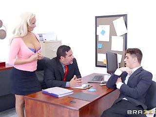 Nikki fox tits - Brazzers - olivia fox - big tits at work
