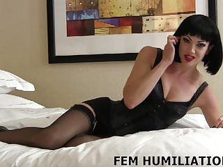 Femdom bondage for sissies You are going to be my personal sissy slave boy