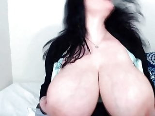 Big tits and curvy asses - Brunette milf jen with immense tits and curvy ass