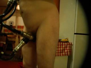The milking machine pics xxx Modified milking machine 1