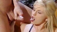 sprayshots for a blonde