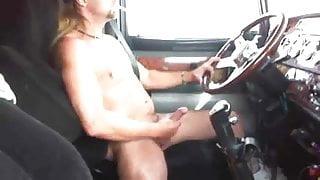 Str8 horny trucker