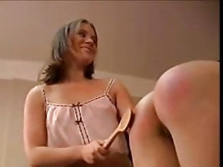 Spanked husbands free clips Old spanking clips 8