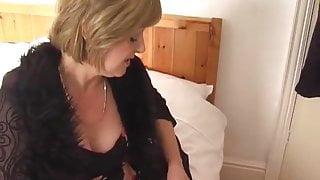 Mature Brit lady