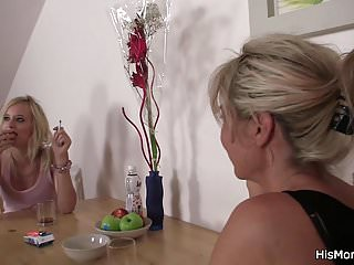 Moms teaching teens sex Lesbian mom teaching blonde teen toying