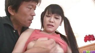 Wild Koyuki Ono with a pussy creampie