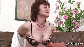 German Mother Work as Hooker first time for Money