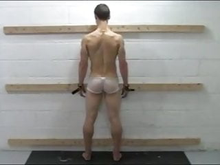 Boys get spanked then fucked - Hampered boy gets his splendid ass whipped