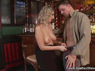 Bar sex videos Anal sex party in the bar