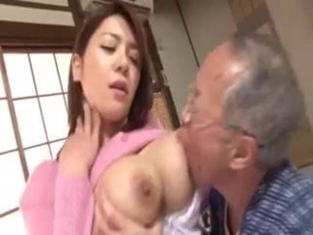Old Man Big Dick Fucks Teen