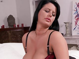 Xxx nylons and heels clips Buxom mature in nylons and heels teasing hd
