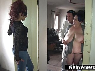 Real gf double penetration Double anal penetration dap for nasty milf in real orgy