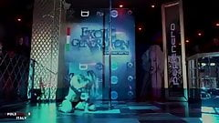 Sexy Lydia roess pole dance