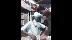 Old Bangladeshi man