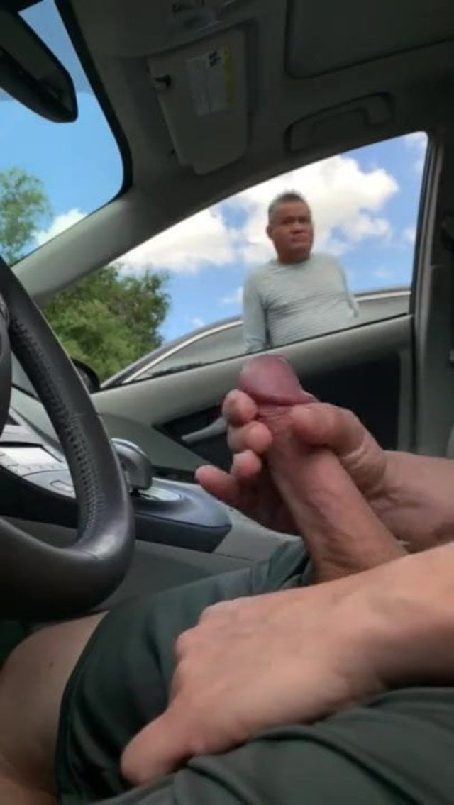 Guy Getting Caught Jerking Off