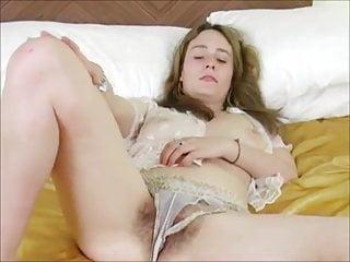 Senior hairy bush Big titty beautiful jasmin playing with her hairy bush