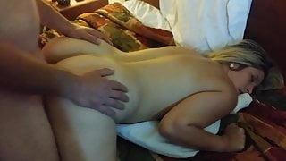 cum in her ass