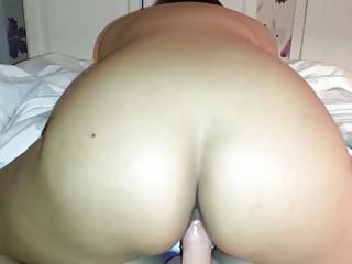 Long slow milf riding tube Reverse cowgirl riding slow